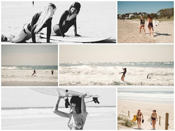 Plaquette session surf australie première fois